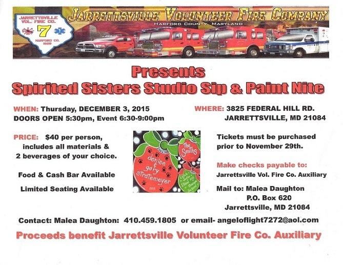 Jarrettsville Volunteer Fire Company Craft Show